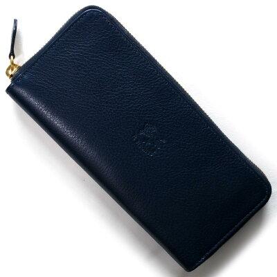 イルビゾンテ IL BISONTE 長財布 スタンダード STANDARD ブルー C1058 P 866 メンズ レディース