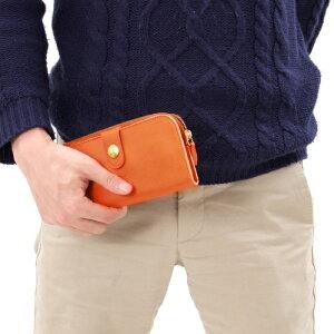 イルビゾンテ 長財布 財布 メンズ レディース オレンジ C0782 MP 166 IL BISONTE