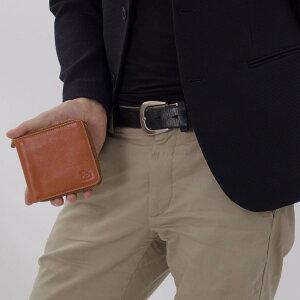 イルビゾンテ 二つ折り財布 財布 メンズ レディース オリジナル ORIGINAL ?キャラメルブラウン C0990 P 145 IL BISONTE