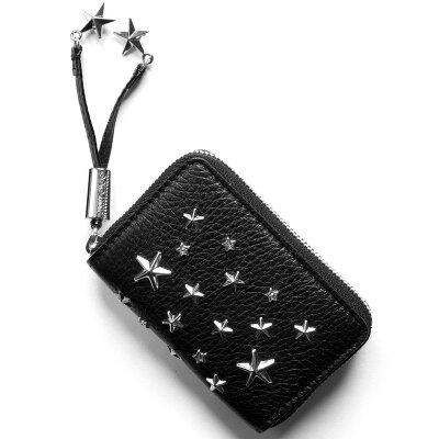 ジミーチュウ JIMMY CHOO コインケース【小銭入れ】 ネリー/NELLIE スタースタッズ STARS ブラック NELLIE DCS BLK レディース