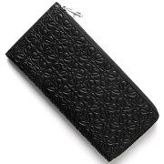 ロエベ LOEWE 長財布【札入れ】 CREMALLERA REPEAT ブラック 107 N41 55 1100 レディース