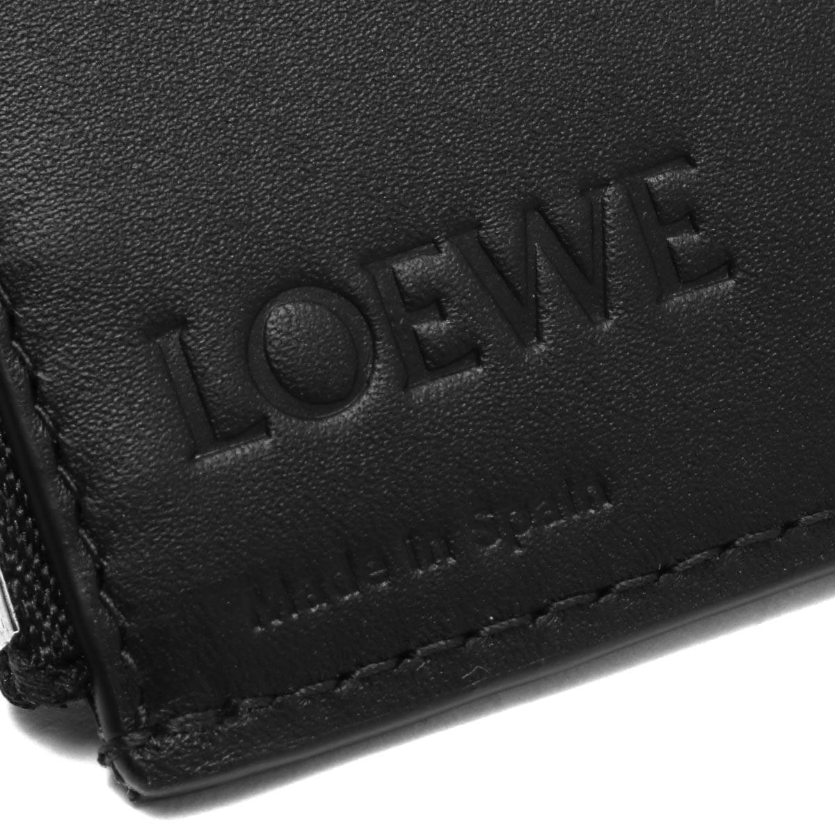 ロエベ三つ折り財布財布メンズリピートブラック107S975511002020年春夏新作LOEWE