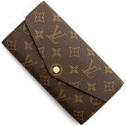 ルイヴィトン Louis Vuitton 長財布 モノグラム ポルトフォイユ サラ チョコレートブラウン M60531 メンズ レディース