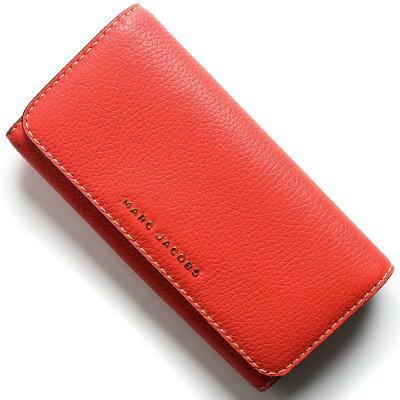 マークジェイコブス 長財布 財布 レディース ザ グラインド レッドポピー M0013660 617 MARC JACOBS