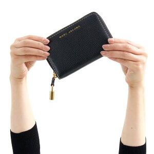 マークジェイコブス 二つ折り財布 財布 レディース ザ グラインド ブラック M0013661 001 1SZ 2018年秋冬新作 MARC JACOBS