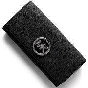 マイケルコース MICHAEL KORS 長財布 フルトン FULTON ブラック 32S7SFTE3B 001 レディース
