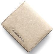 マイケルコース MICHAEL KORS 二つ折財布 ジェット セット トラベル JET SET TRAVEL セメントグレー 32T6STVD2L 092 レディース