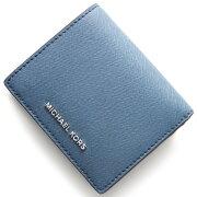 マイケルコース MICHAEL KORS 二つ折財布 ジェット セット トラベル JET SET TRAVEL デニムブルー 32T6STVD2L 405 レディース