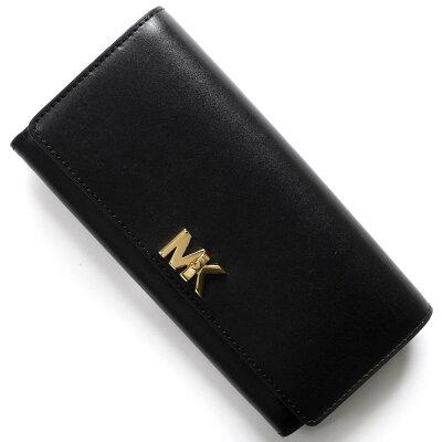 マイケルコース MICHAEL KORS 長財布 モット MOTT ブラック 32T7GOXE3L 001 レディース