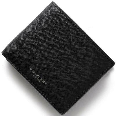 マイケルコース MICHAEL KORS 二つ折り財布 ハリソン HARRISON ブラック 39F5LHRF3L 001 メンズ