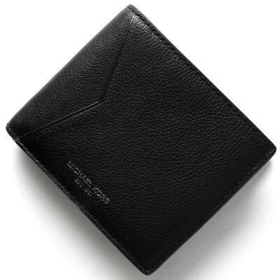 マイケルコース MICHAEL KORS 二つ折財布【札入れ】 ブライアント BRYANT ブラック 39F5MYTF1L 001 メンズ