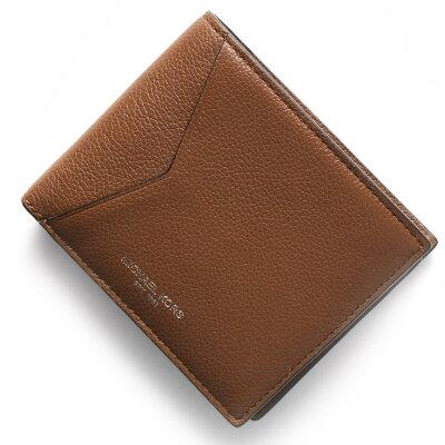 マイケルコース MICHAEL KORS 二つ折り財布 ブライアント BRYANT ラゲージブラウン 39F5MYTF3L 230 メンズ