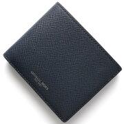 マイケルコース MICHAEL KORS 二つ折財布【札入れ】 ハリソン HARRISON ネイビー 39F5XHRF1L 406 メンズ