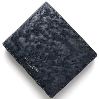 マイケルコース MICHAEL KORS 二つ折り財布【札入れ】 ハリソン HARRISON ネイビー 39F5XHRF1L 406 メンズ