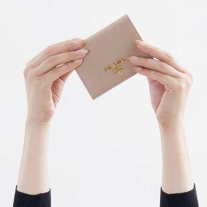 プラダ 二つ折り財布 財布 レディース サフィアーノ マルチック チプリアピンクページュ&オルキデアピンク 1MV204 ZLP F0TTV 2018年秋冬新作 PRADA