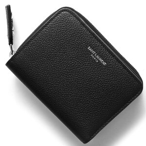 サンローランパリ SAINT LAURENT PARIS 二つ折財布 クラシック YSL CLASSIC ブラック 414661 B680N 1000 レディース