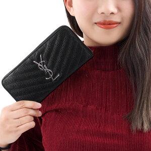 サンローランパリ 長財布 財布 レディース モノグラム MONOGRAMME ブラック 358094 BOW02 1000 SAINT LAURENT PARIS