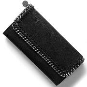 ステラマッカートニー STELLA McCARTHNEY 長財布 ファラベラ FALABELLA ブラック 430999 W9132 1000 レディース
