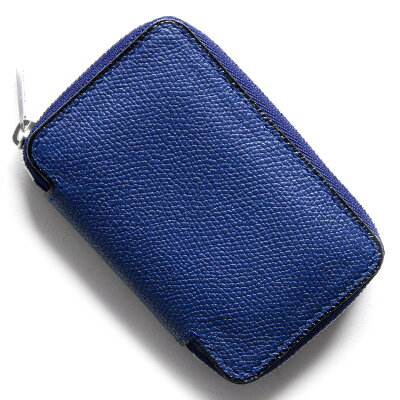 ヴァレクストラ VALEXTRA コインケース【小銭入れ】 ロイヤルブルー V0L07 028 RO メンズ