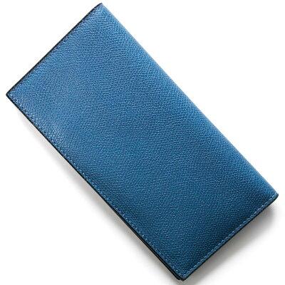 ヴァレクストラ 長財布【札入れ】 財布 メンズ レディース コバルトブルー V8L21 028 CB VALEXTRA