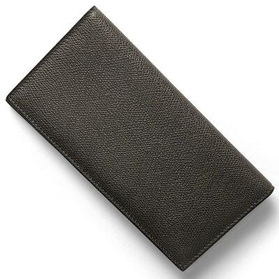 ヴァレクストラ VALEXTRA 長財布【札入れ】 フモディロンドラグレー V8L21 028 FL メンズ レディース