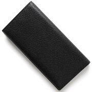 ヴァレクストラ VALEXTRA 長財布【札入れ】 ブラック V8L21 028 N メンズ レディース