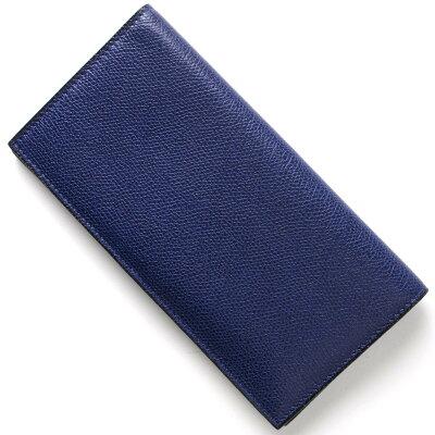 ヴァレクストラ VALEXTRA 長財布【札入れ】 ロイヤルブルー V8L21 028 RO メンズ レディース