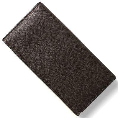 ヴァレクストラ VALEXTRA 長財布【札入れ】 モロブラウン V8L21 028 T メンズ レディース