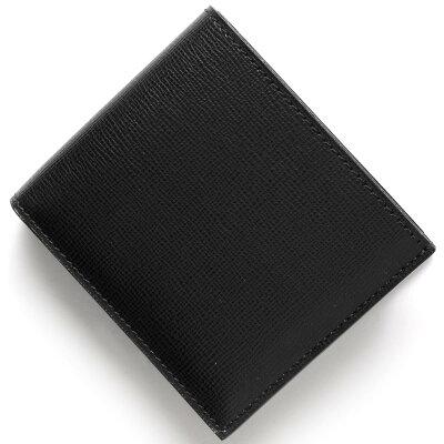 ヴァレクストラ VALEXTRA 二つ折財布 ブラック V8L23 044 N メンズ レディース