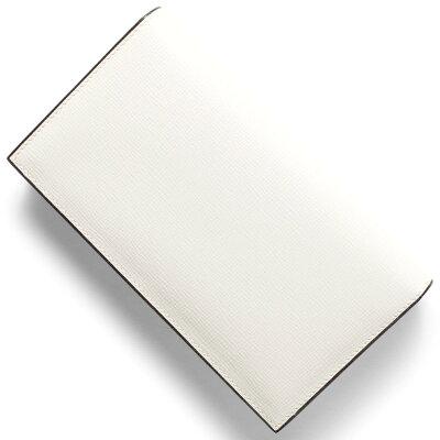 ヴァレクストラ VALEXTRA 長財布 ホワイト V8L70 044 W メンズ レディース