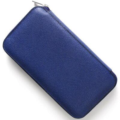 ヴァレクストラ 長財布 財布 メンズ レディース ロイヤルブルー V9L06 028 RO VALEXTRA