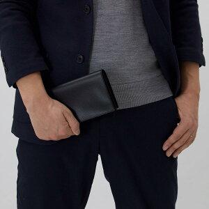 ヴァレクストラ 長財布 財布 メンズ レディース ブラック V8L70 044 N VALEXTRA
