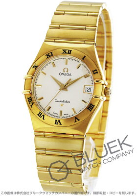 オメガ コンステレーション YG金無垢 腕時計 メンズ OMEGA 1112.30