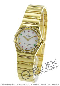 オメガ OMEGA 腕時計 コンステレーション アイリス マイチョイス ダイヤ YG金無垢 レディース 1154.79