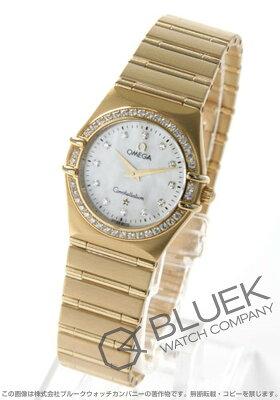 オメガ コンステレーション ダイヤ YG金無垢 腕時計 レディース OMEGA 1177.75