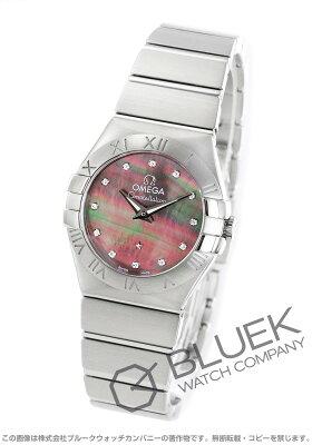 オメガ OMEGA 腕時計 コンステレーション ブラッシュ タヒチ ダイヤ レディース 123.10.24.60.57.003