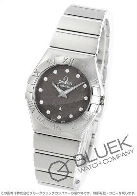 オメガ OMEGA 腕時計 コンステレーション ブラッシュ ダイヤ レディース 123.10.27.60.56.001