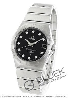 オメガ OMEGA 腕時計 コンステレーション ダイヤ メンズ 123.10.38.21.51.001