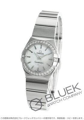 オメガ OMEGA 腕時計 コンステレーション ポリッシュ ダイヤ レディース 123.15.24.60.05.002
