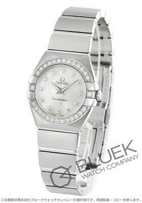オメガ OMEGA 腕時計 コンステレーション ブラッシュ ダイヤ レディース 123.15.24.60.55.001