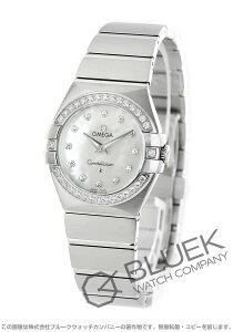 オメガ OMEGA 腕時計 コンステレーション ブラッシュ ダイヤ レディース 123.15.27.60.55.001