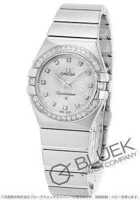 オメガ OMEGA 腕時計 コンステレーション ブラッシュ ダイヤ レディース 123.15.27.60.55.005