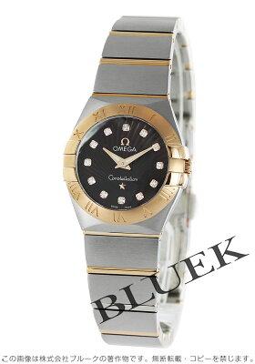 オメガ コンステレーション ブラッシュ ダイヤ 腕時計 レディース OMEGA 123.20.24.60.63.001