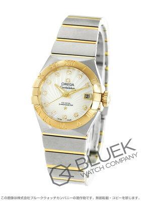 オメガ コンステレーション ブラッシュ ダイヤ 腕時計 レディース OMEGA 123.20.27.20.55.002
