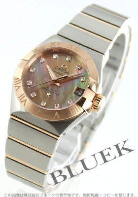 オメガ OMEGA 腕時計 コンステレーション ブラッシュ ダイヤ レディース 123.20.27.20.57.001