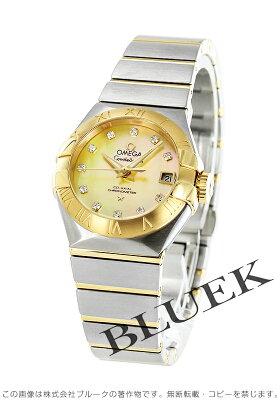 オメガ コンステレーション ブラッシュ ダイヤ 腕時計 レディース OMEGA 123.20.27.20.57.002