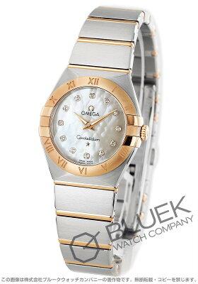 オメガ コンステレーション ブラッシュ ダイヤ 腕時計 レディース OMEGA 123.20.27.60.55.001