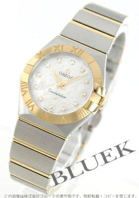オメガ コンステレーション ブラッシュ ダイヤ 腕時計 レディース OMEGA 123.20.27.60.55.002