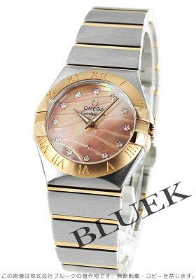 オメガ OMEGA 腕時計 コンステレーション ブラッシュ ダイヤ レディース 123.20.27.60.57.002