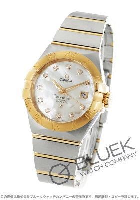 オメガ コンステレーション ブラッシュ ダイヤ 腕時計 レディース OMEGA 123.20.31.20.55.001